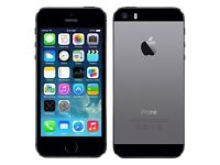 iPhone 5. 16gb. Space grey. On EE, orange, T-mobile and virgin network, £120 fixed price