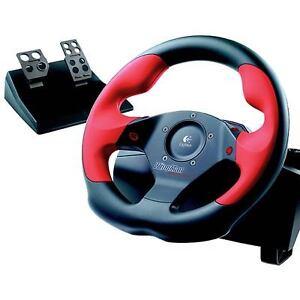 wtb logitech wing man steering wheel