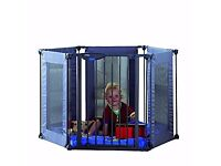 Brand new Lindam fabric playpen