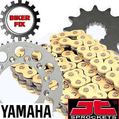 <em>YAMAHA</em> YZ250 K 98 GOLD CHAIN AND SPROCKET SET HDR RACE SERIES