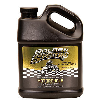 Spectro Golden Spectro 2-Cycle Semi-Synthetic Pre-Mix Engine Oil 64oz