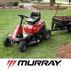 "USED* MURRAY 30"" RIDE ON MOWER - 130021919 - 344cc 6 SPEED GAS POWERED LAWNMOWER LAWNMOWERS MOWERS RIDE ONS GASOLINE ..."