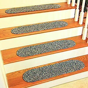 Brand new braided stair treads - reversible and machine washable