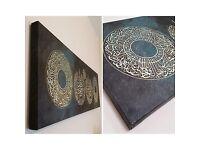 Large Arabic Islamic canvas