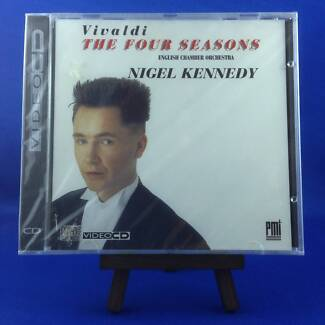 NIGEL KENNEDY: Vivaldi The Four Seasons (EXTREMELY RARE 1995 VIDE