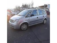 Vauxhall Meriva Enjoy 8v PETROL MANUAL 2004/04