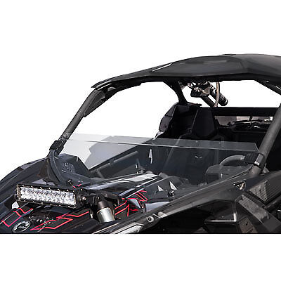 Tusk Removable Half Windshield Clear Can-Am Maverick X3 Max Turbo R 2017–2018