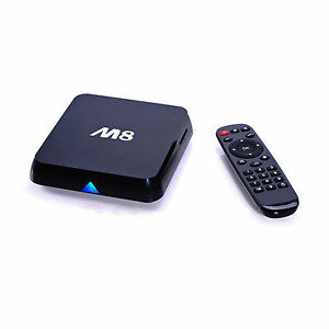 2GB RAM M8 Android TV Box - Fully Setup