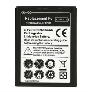 New Replacement Battery for Samsung Galaxy Note GT-N7000 i9220