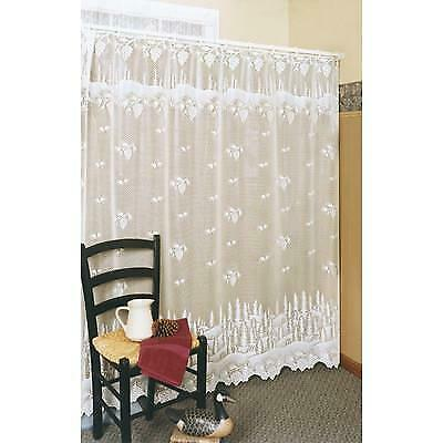 Pine Cone Shower Curtain (Heritage Lace Pinecone Shower Curtain, White -)