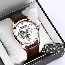 NEW Barkers of Kensington Limited Edition Automatic Watch (RP: £525)