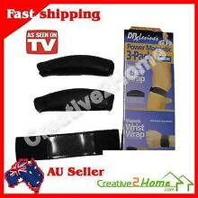 3 pack power magnetic knee & wrist strap for pain relief Sports T West Ballina Ballina Area Preview