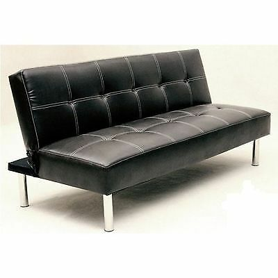 Twickenham Sofa Bed Black White Rips Scuffs No Legs Defects