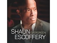 2 Shaun Escoffery Concert Tickets £15 each for Palace Theatre Southend on Wednesday 26th Oct