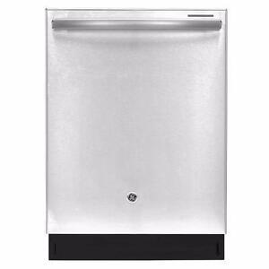 Lave-vaisselle GE PROFILE encastré, 24 po, à vapeur, cuve en stainless, 45 dBA, grande capacité, stainless (SKU: 1015)