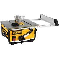 DEWALT DWE7480 Compact Table Saw (10 inch.) - Brand New