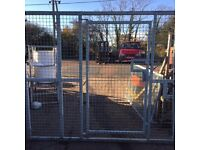 Large Security Gate with Door