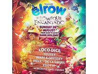 Elrow Newcastle - el bowsque encantado - outdoors tickets – 26th August