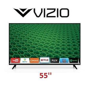 NEW VIZIO 55'' LED SMART TV 120HZ - 125021642 - HD TV - 1080p