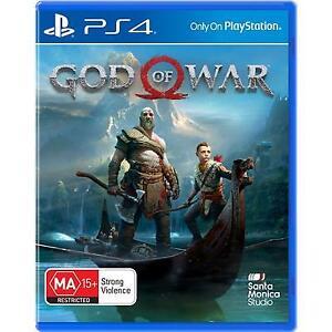 God of War (PS4 - $50.00)