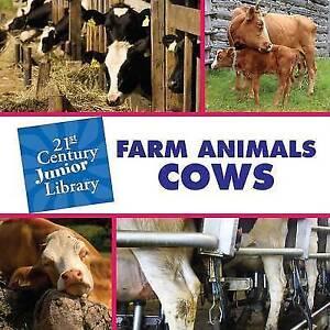 Farm Animals: Cows (21st Century Junior Library: Farm Animals)-ExLibrary