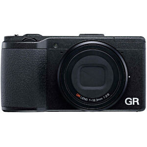Ricoh GR Compact APS-C Sensor Digital Camera - Black