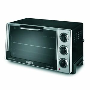 DELONGHI  MID SIZE TOASTER  &  CONVECTION  OVEN .