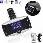 Bluetooth Audio Player FM Transmitters with LCD Screen
