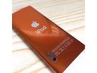 Orange ipod nano 5th generation