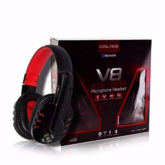 Bluetooth Headset Stereo Bass Earphone Noise Cancellation