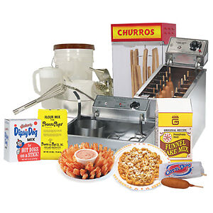 Funnel Cakes, Corn Dogs and Fried Foods EQUIPMENT AND SUPPLIES