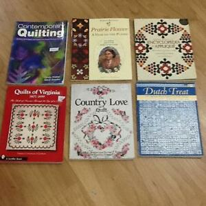 Quilting books and Patterns
