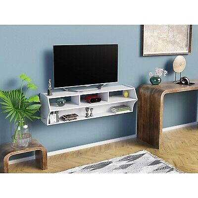 Atlus Plus Wall Mounted Media Storage White - Prepac