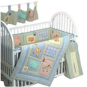 Kidsline Malawi Crib Bedding Set With Extras