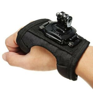 Palm Strap Wrist Hand Band Mount action cam go pro