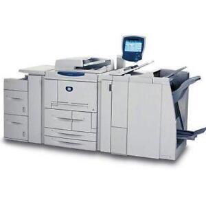 Xerox 4127 EPS Enterprise Printing System High Volume Production Printer Copier Copy Machine Photocopier Finisher 125PPM