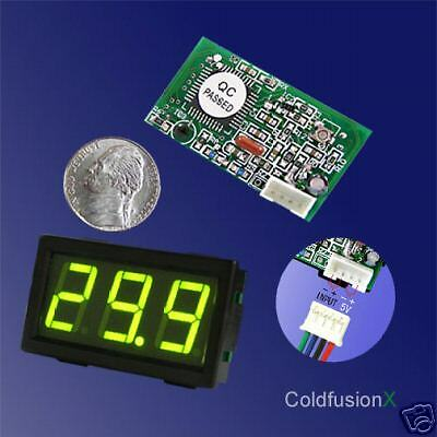Dc 100a Mini Green Led Digital Current Amp Meter
