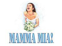 One Mamma Mia ticket next Saturday evening