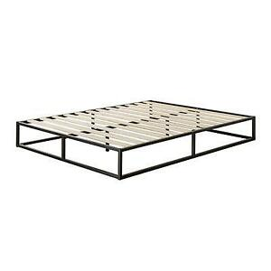 Zinus OLB-MBBF-10T  10 Inch Platforma Low Profile Bed Frame /Wood slat support, Twin (new other)