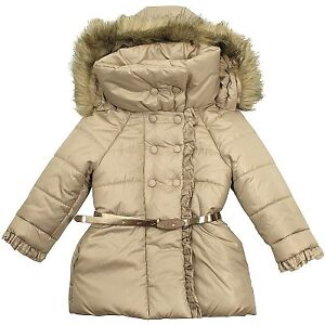 Mayoral Champagne Padded Coat