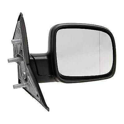Volkswagen Transporter T5 2003 2010 Manual Black Wing Mirror Drivers Side