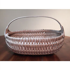 Vintage Native Buttocks Style Gathering Basket