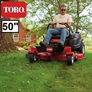 "USED* TORO 50"" ZERO TURN RIDE MOWER - 133730863 - TIMECUTTER 24.5 HP 708CC RIDING MOWERS SMART SPEED GRASS CUTTING LA..."