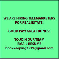 Telemarketer Jobs - Part time*** $12.00-$16.00CAD plus Bonus **