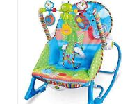 Fisher price infant to toddler bouncer