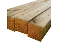 2x2(50mmx50mm) New Pressure Treated Sawn Timber at Trade Prices