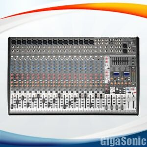 Behringer SX2442FX Eurodesk 24-Channel Mixer New