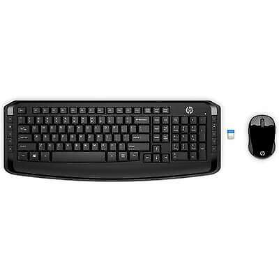 HP Wireless Keyboard and Mouse 300, Black, , 3ML04AA#ABL
