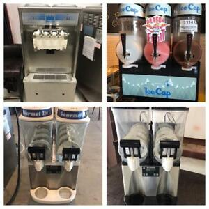 SOFT ICE-CREAM MACHINES! SLUSH MACHINES! ESPRESSO MACHINES & LOTS MORE