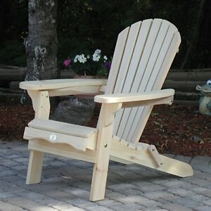 Adirondack folding Bear Chairs Canada Made Kitchener / Waterloo Kitchener Area image 1